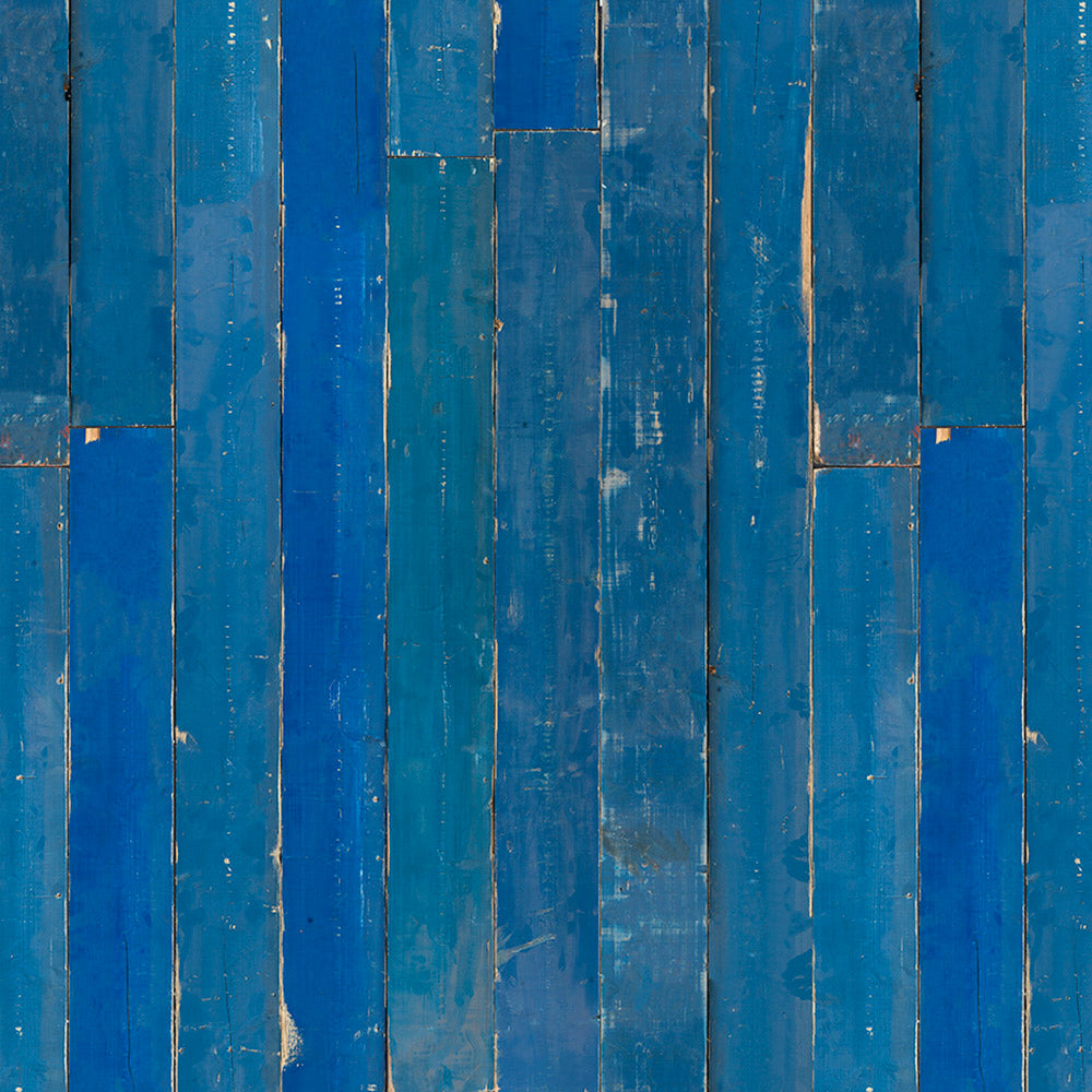 Blue Scrapwood Materials Wallpaper by Piet Hein Eek - NLXL - Do Shop