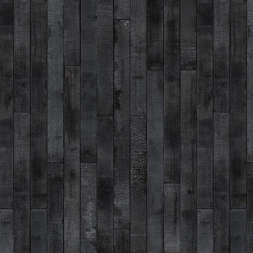 Burnt Wood Materials Wallpaper by Piet Hein Eek - NLXL - Do Shop