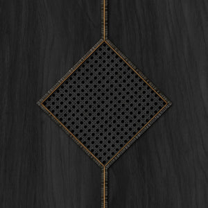 Diamond Webbing Black Wallpaper by Mr & Mrs Vintage - NLXL | Do Shop