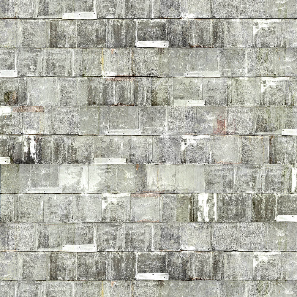 Rusted Metal White Wallpaper by Piet Hein Eek - NLXL - Do Shop