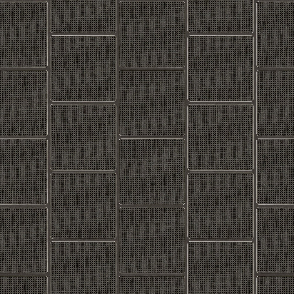 Square Webbing Black Wallpaper by Studio Roderick Vos - NLXL | Do Shop