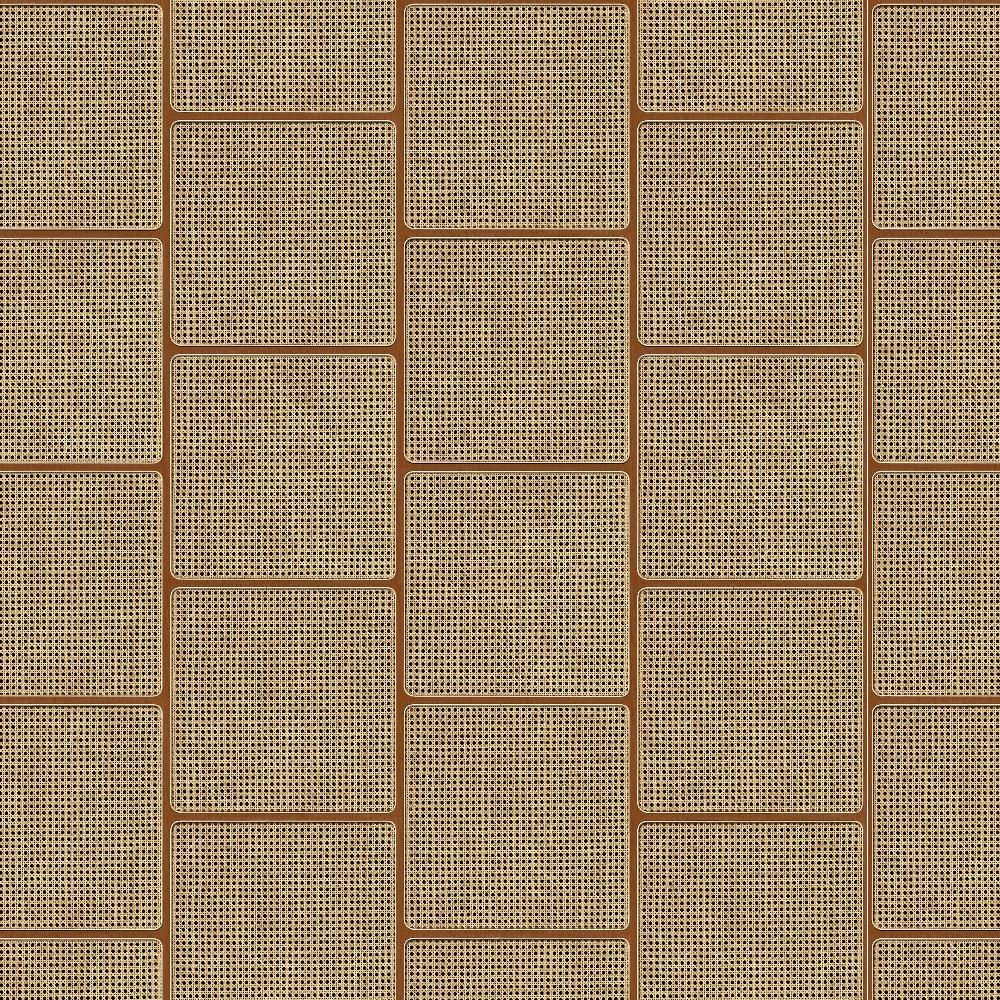 Square Webbing Mahogany Wallpaper by Studio Roderick Vos - NLXL | Do Shop