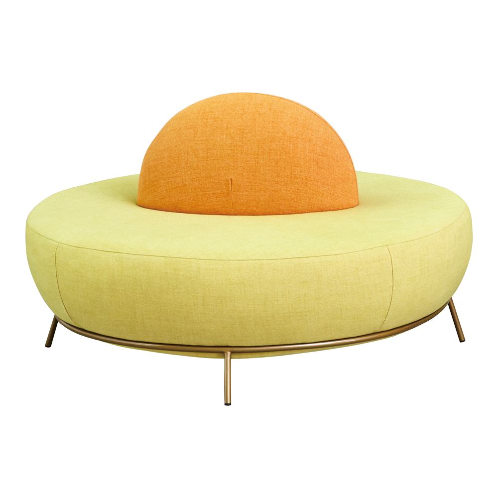 Nest Round Sofa with Backrest - Missana - Do Shop
