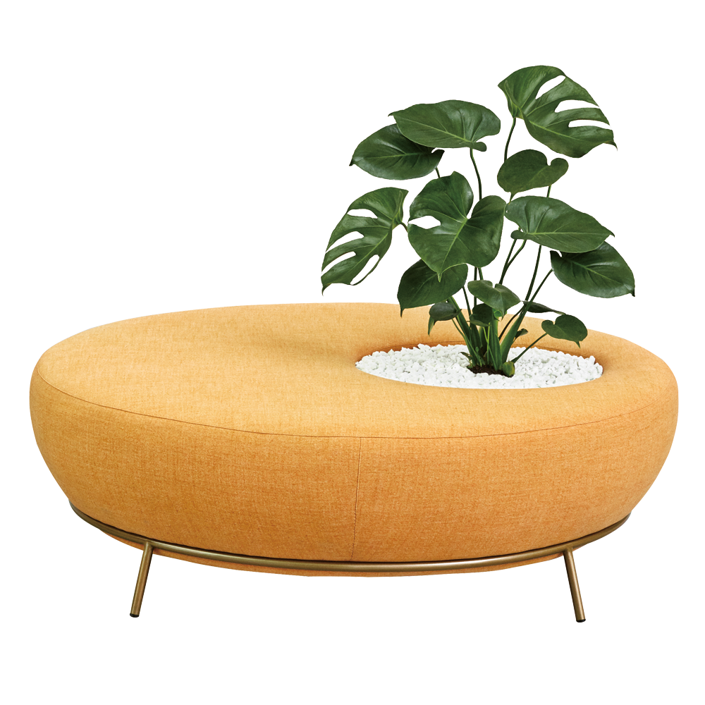 Nest Round Sofa with Planter - Missana - Do Shop