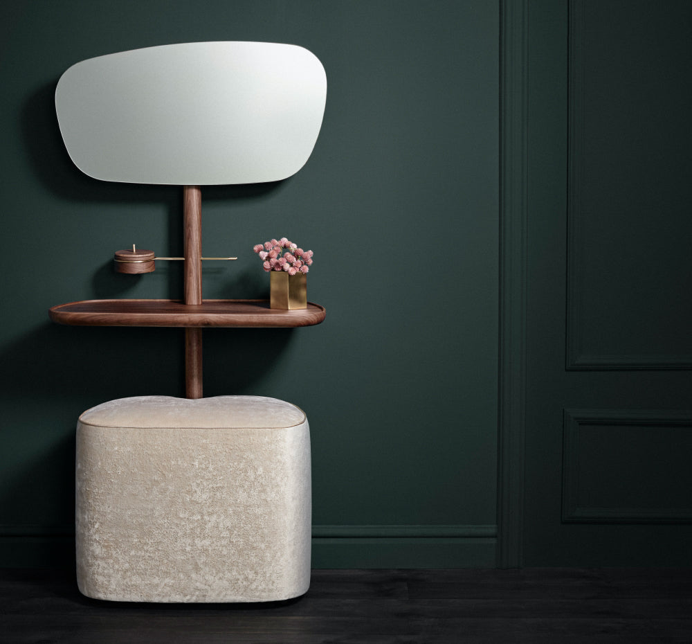 Vanity Table and Pouf - Tocador by Nomon | Do Shop