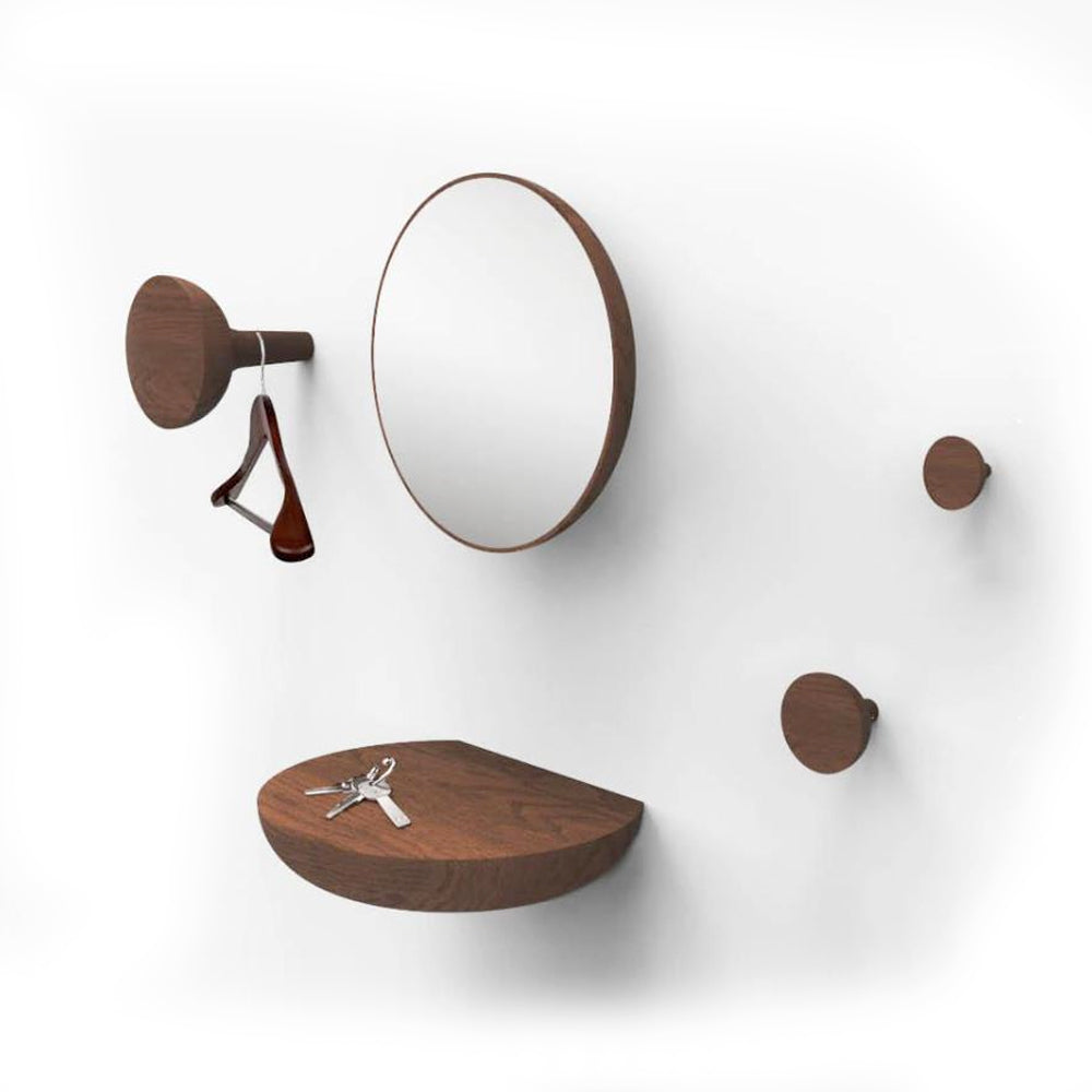 Welcome Collection - Hooks, Shelf and Mirror by Nomon | Do Shop