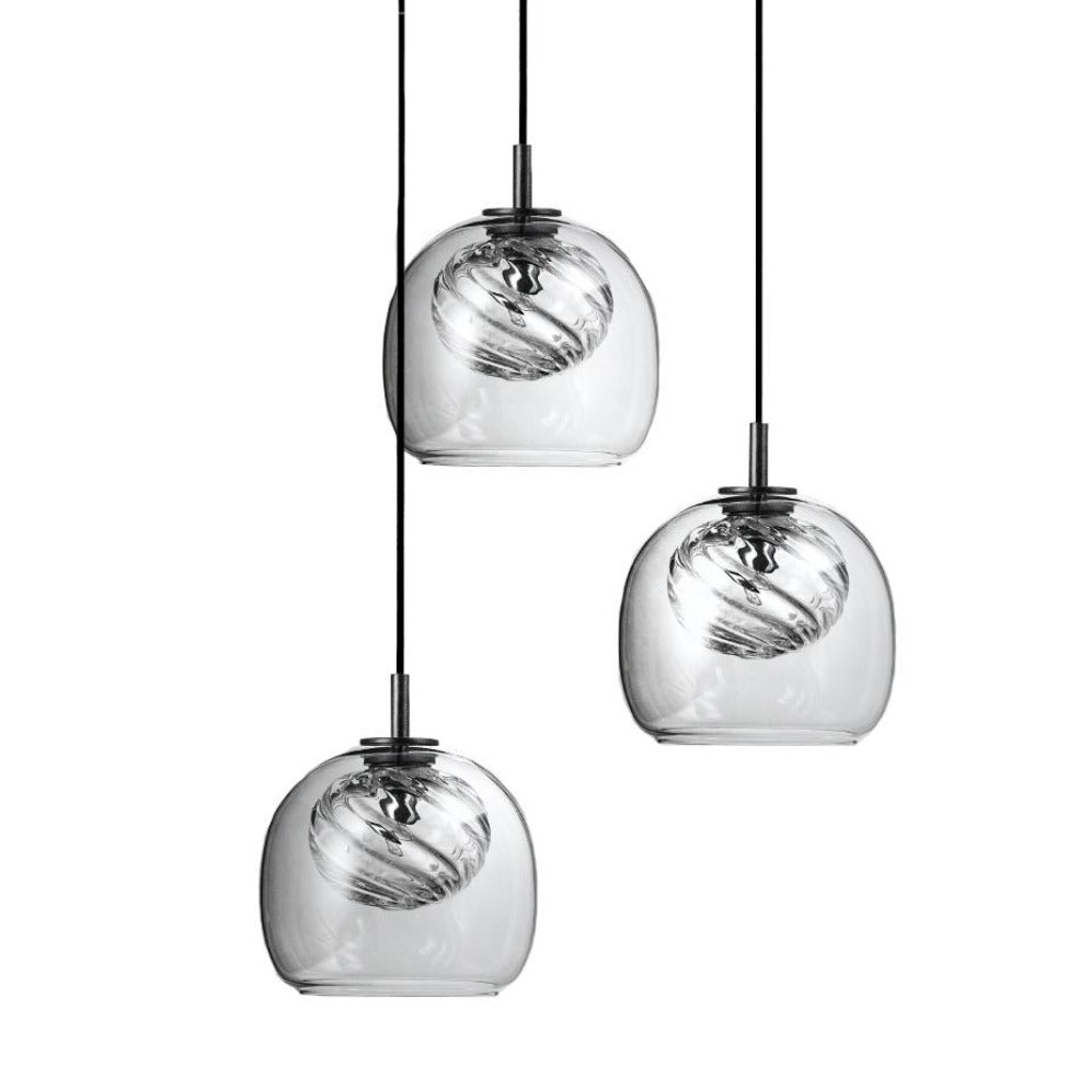 Inside Triplette Pendant Lamp by Oblure | Do Shop