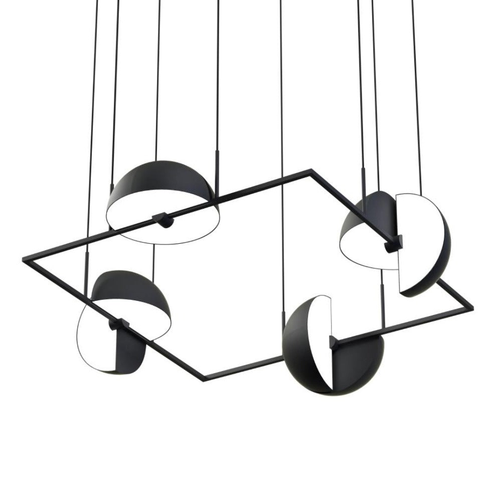 Trapeze Quartette Pendant Lamp by Oblure | Do Shop