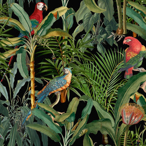 Parrots Of Brasil Wallpaper - Compendium Collection by MINDTHEGAP | Do Shop