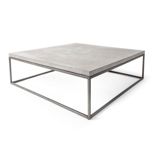 Concrete Perspective Coffee Table - 75 x 75 cm - Lyon Beton - Do Shop