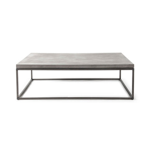 Concrete Perspective Coffee Table - 100 x 100 cm - Lyon Beton - Do Shop