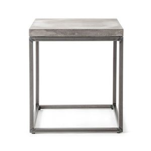 Concrete Perspective Side Table - Lyon Beton - Do Shop
