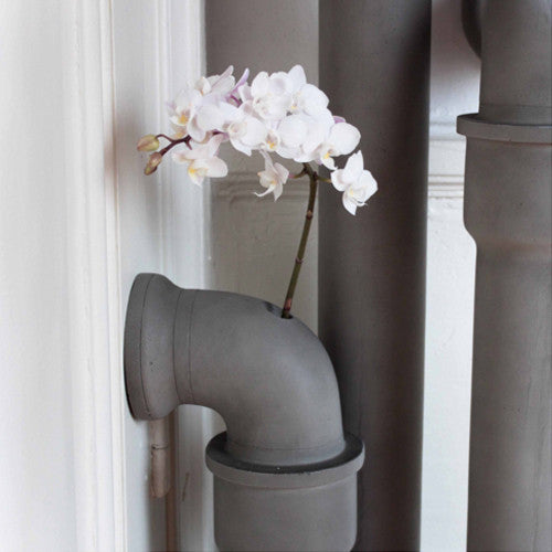 Concrete Pipeline Stem Vase - Lyon Beton - Do Shop