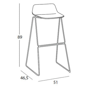 Pressious Bar Stool - High - Casamania - Do Shop