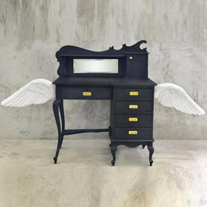 Dark Angel Secretaire Study Table by Scarlet Splendour | Do Shop