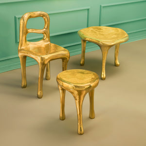 Fools' Gold Tables by Scarlet Splendour | Do Shop