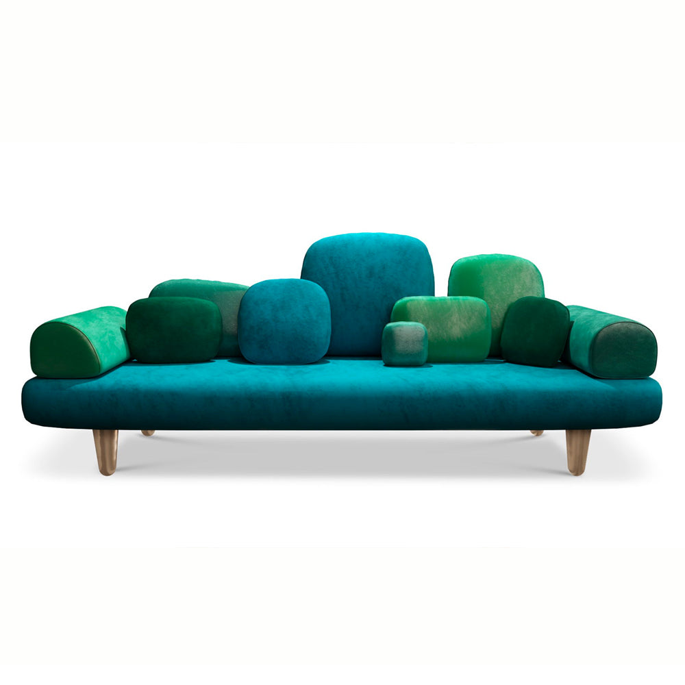 Forest Sofa Green - Forest Collection by Scarlet Splendour | Do Shop