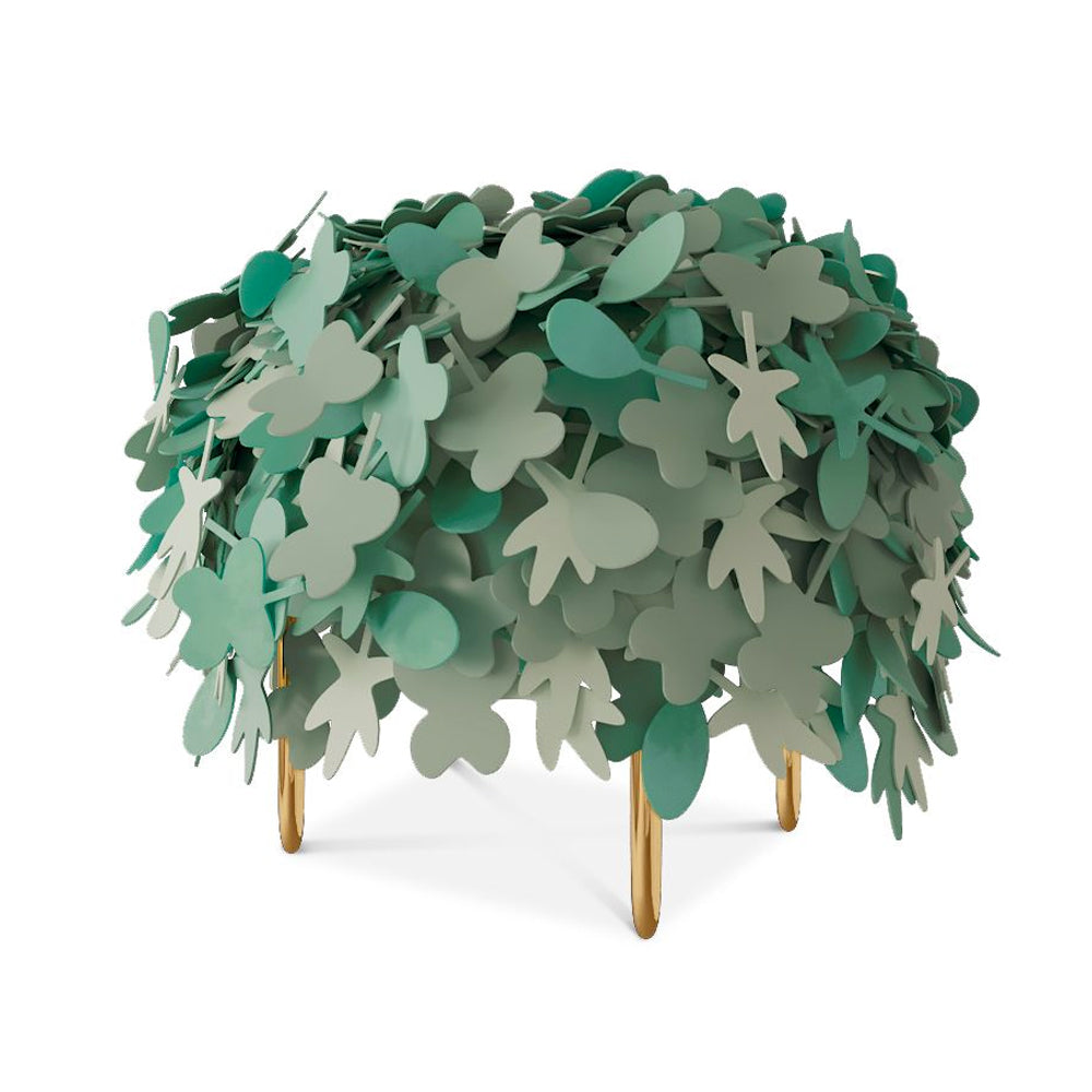 Leaf Pouf - Forest Collection by Scarlet Splendour | Do Shop