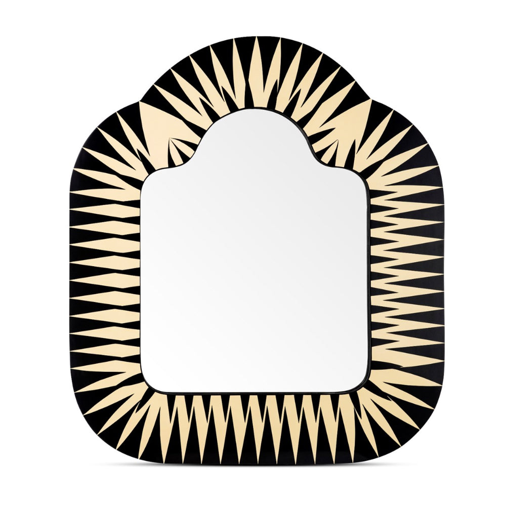 Vanilla Noir The Big Parade Large Rectangular Mirror by Scarlet Splendour | Do Shop