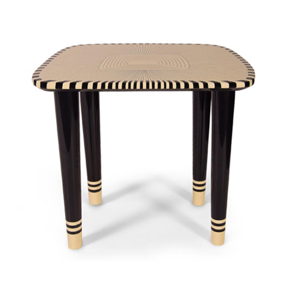 Vanilla Noir Bijou Stool by Scarlet Splendour | Do Shop