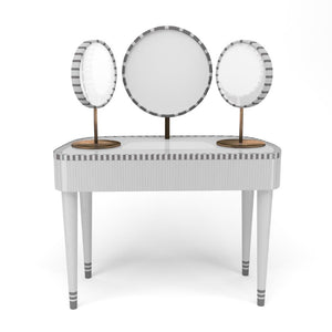 Vanilla Noir Woman In Paris Vanity Table by Scarlet Splendour | Do Shop