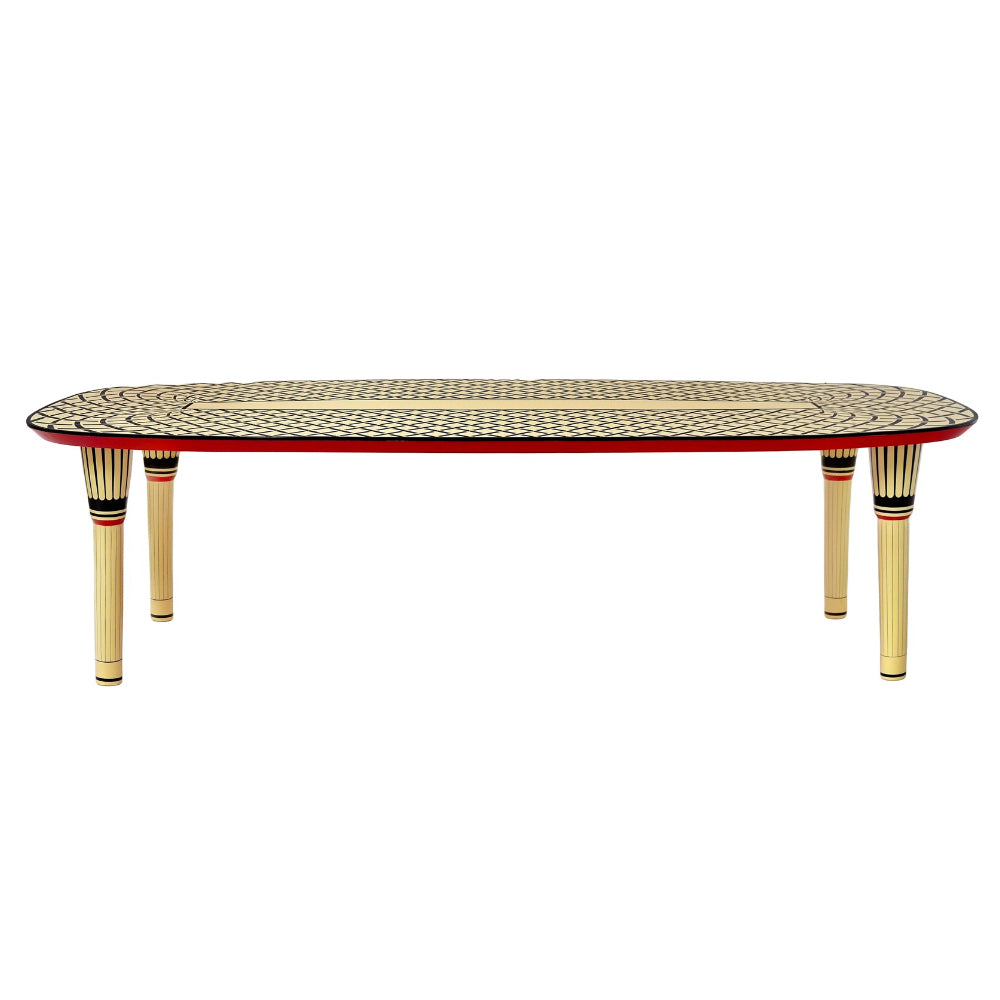 Vanilla Noir Aelita Dining Table by Scarlet Splendour | Do Shop