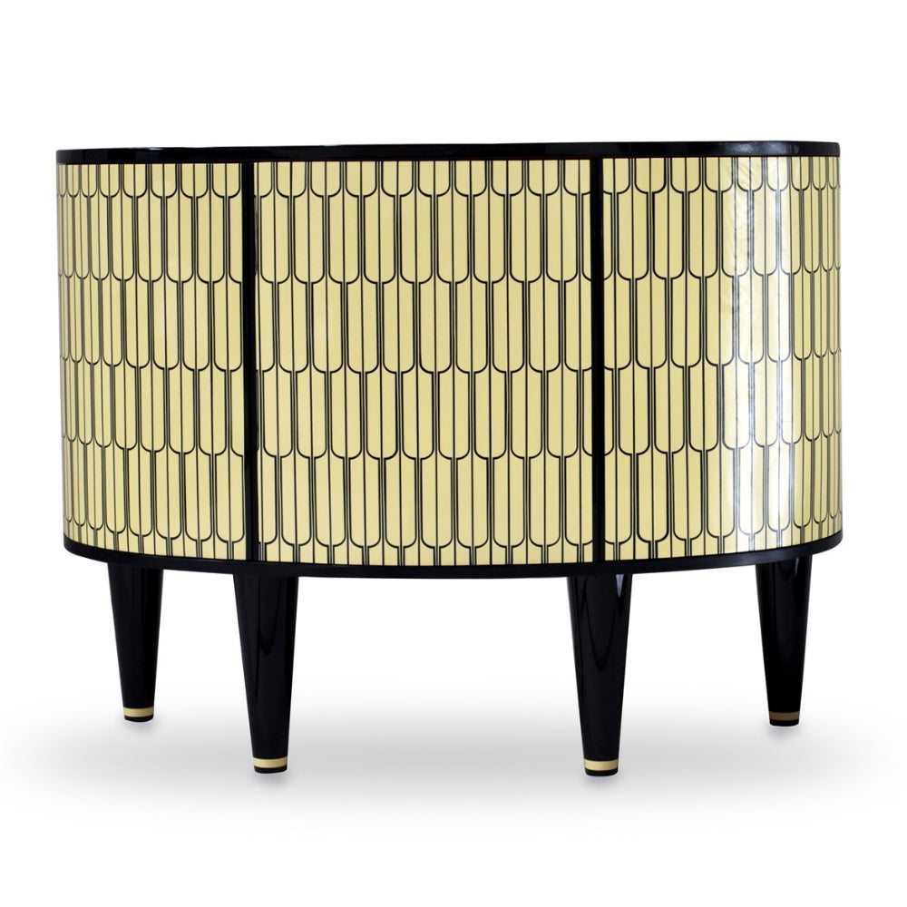 Vanilla Noir The Sheik Console Cabinet by Scarlet Splendour | Do Shop