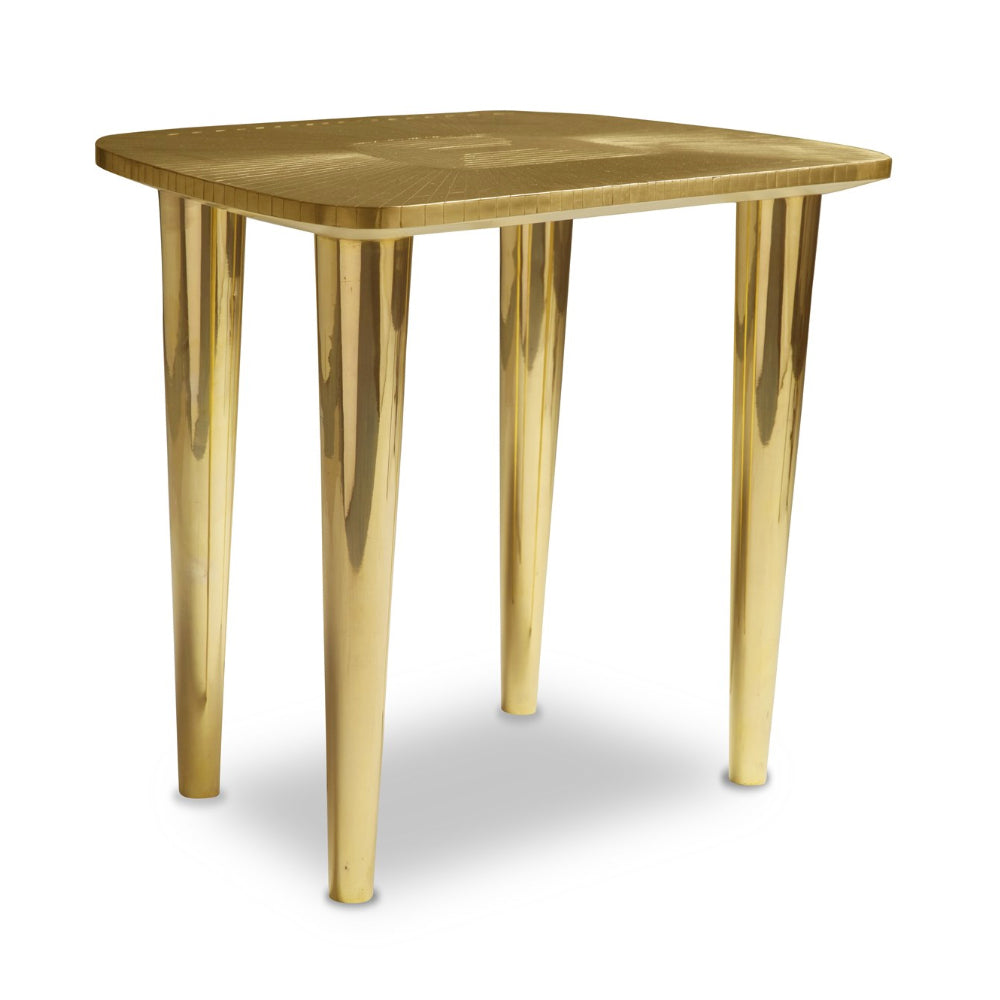 Vanilla Noir Bijou Oro Stool by Scarlet Splendour | Do Shop