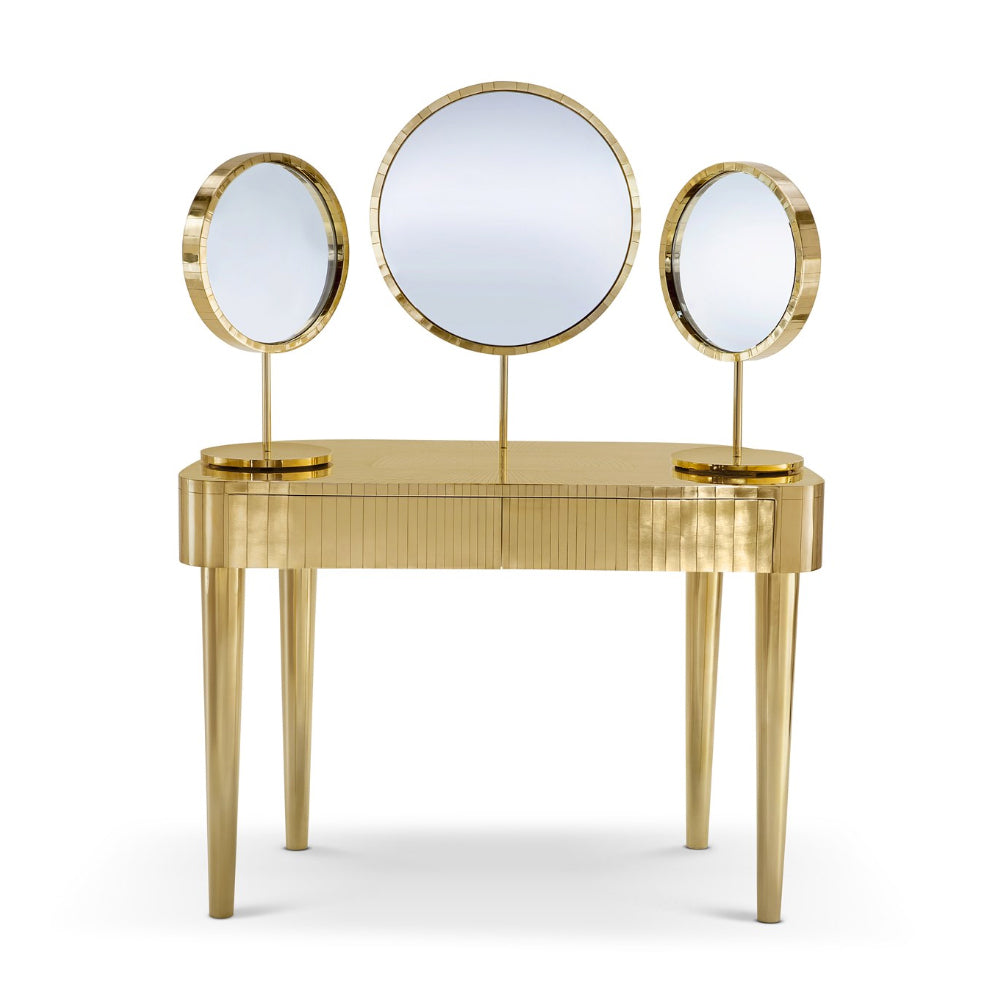 Vanilla Noir Oro Woman In Paris Vanity Table by Scarlet Splendour | Do Shop