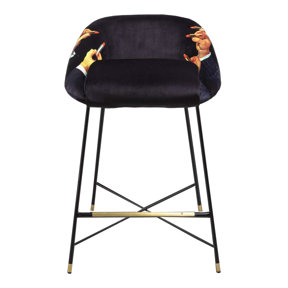 Black Lipstick - High Stool - Seletti Wears Toiletpaper | Do Shop
