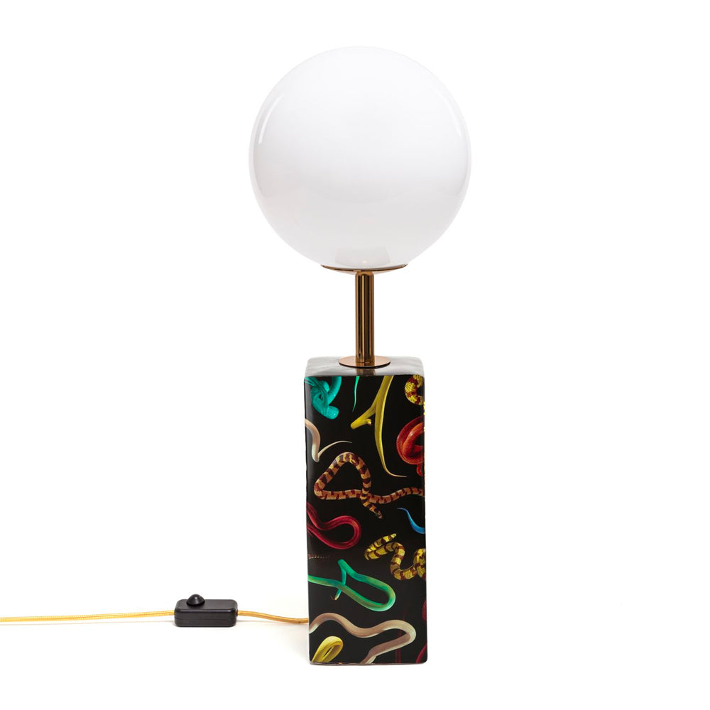 Snakes Table Lamp by Seletti Wears Toiletpaper | Do Shop