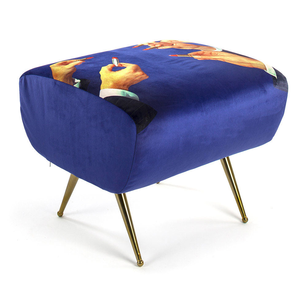 Lipsticks Pouf - Seletti Wears Toiletpaper | Do Shop