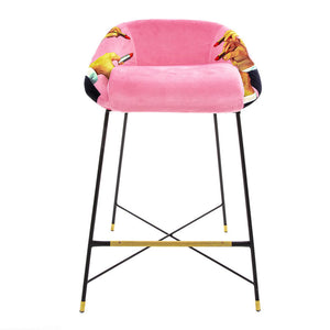 Pink Lipsticks - High Stool - Seletti Wears Toiletpaper | Do Shop