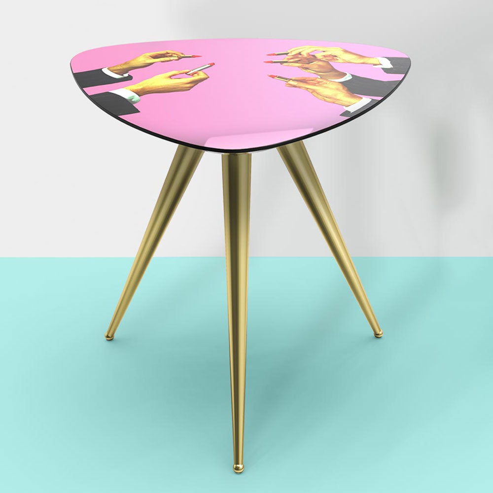 Pink Lipsticks - Side Table - Seletti Wears Toiletpaper | Do Shop