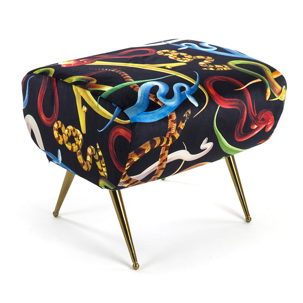 Snakes Pouf - Seletti Wears Toiletpaper | Do Shop