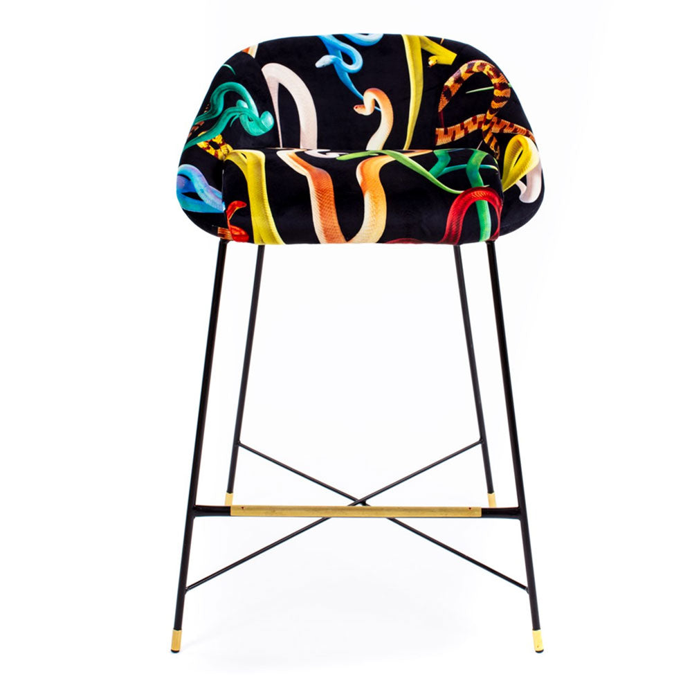 Snakes - High Stool - Seletti Wears Toiletpaper | Do Shop