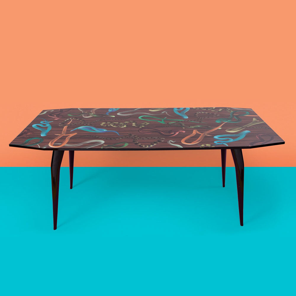 Snake On Wood - Table - Seletti Wears Toiletpaper | Do Shop