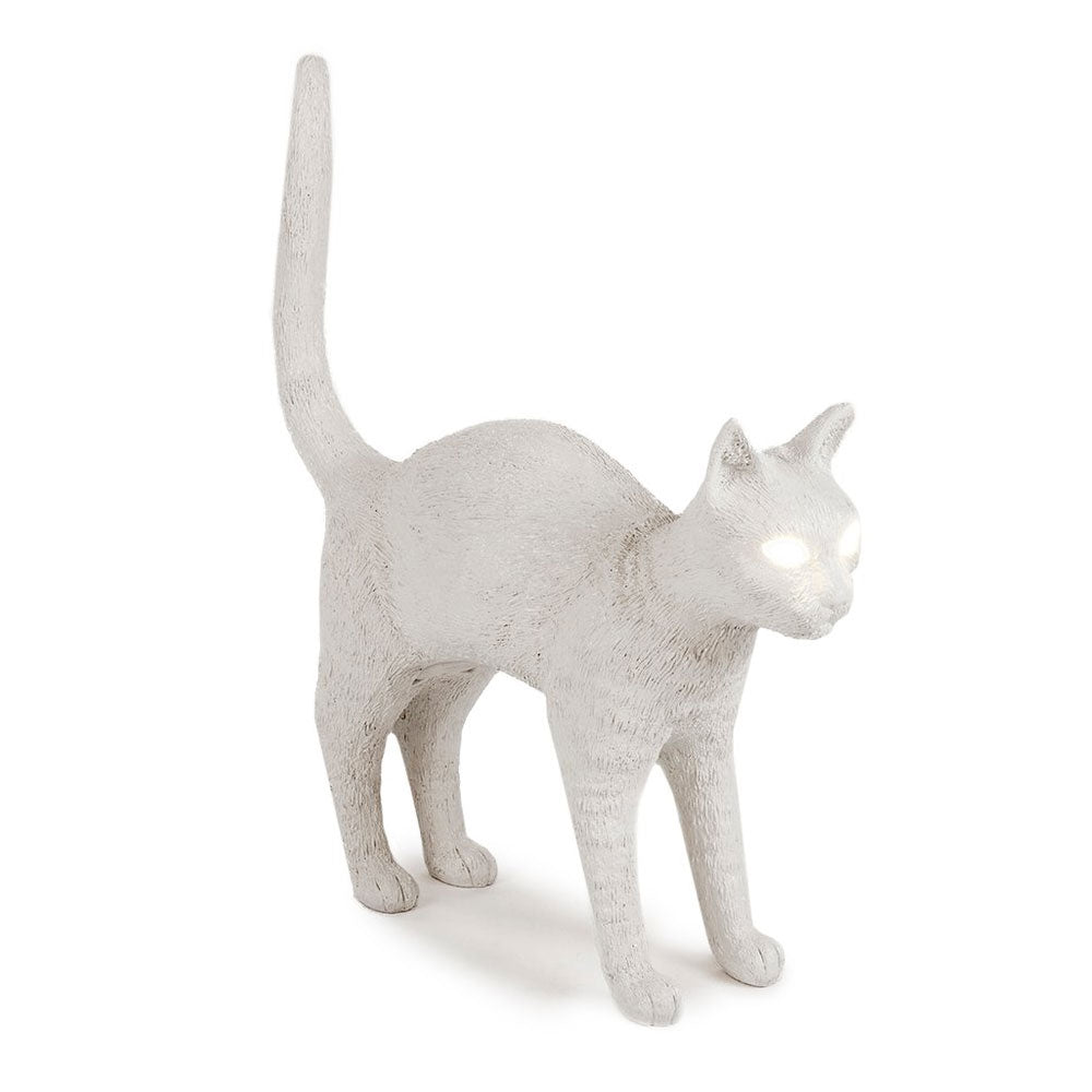 Jobby Felix White The Cat Lamp by Seletti | Do Shop