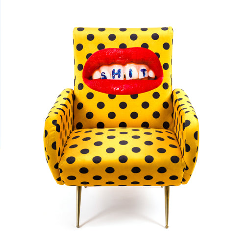 Shit - Armchair - Seletti Wears Toiletpaper