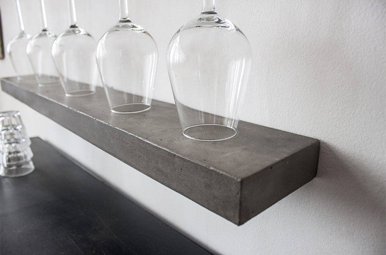 Sliced Concrete Shelf - Set of 2 - Large (90 cm) - Lyon Beton - Do Shop