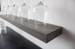 Sliced Concrete Shelf - Set of 2 - Extra Small XS (30 cm) - Lyon Beton - Do Shop