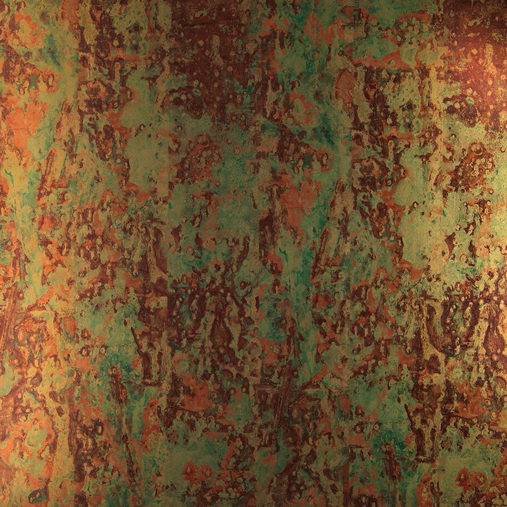 Spoiled Copper Metallic Wallpaper by Piet Hein Eek - NLXL LAB - Do Shop