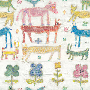 Stacked Animals Sugarboo Wallpaper - MINDTHEGAP - Do Shop