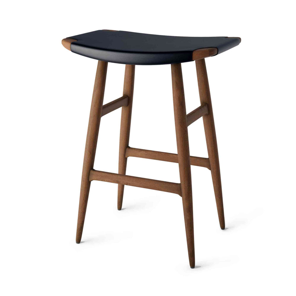 Freja Bar Stool SH610 Leather Seat by Stellar Works | Do Shop