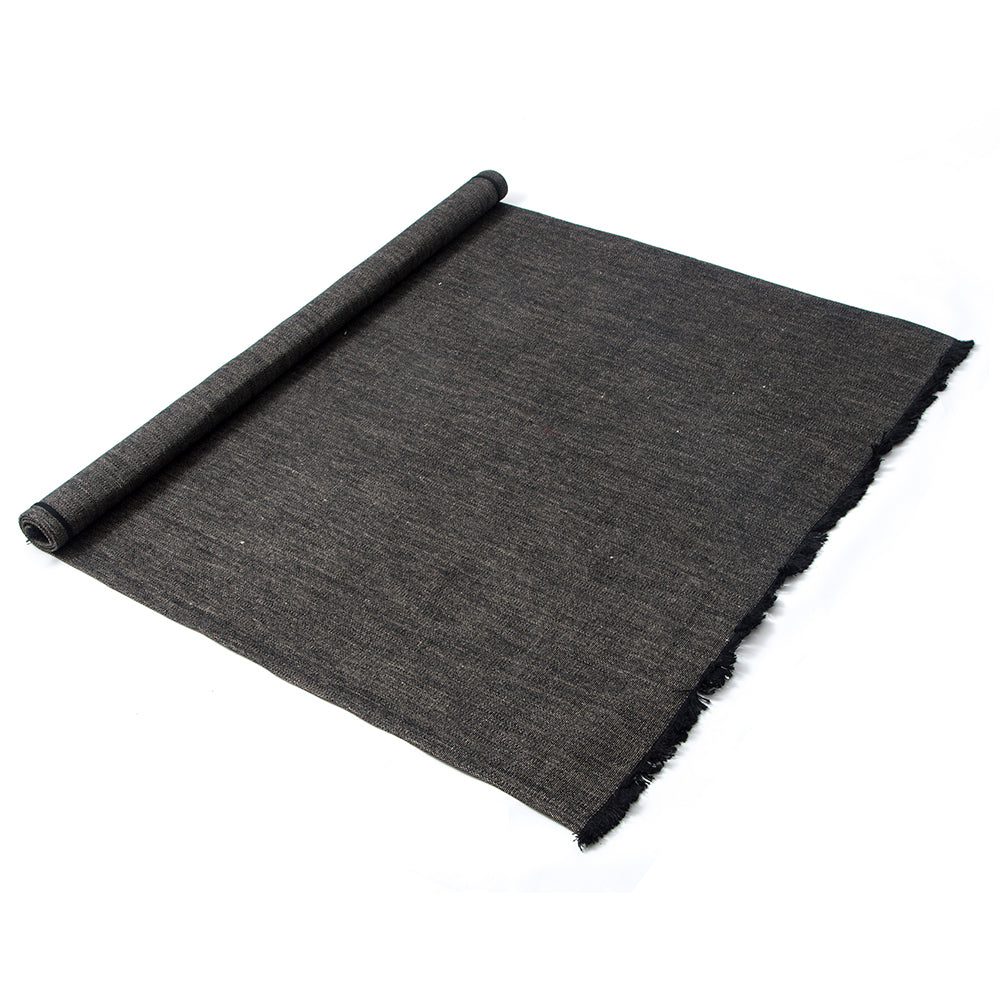 Linen Rug Black - Stellar Works - Do Shop