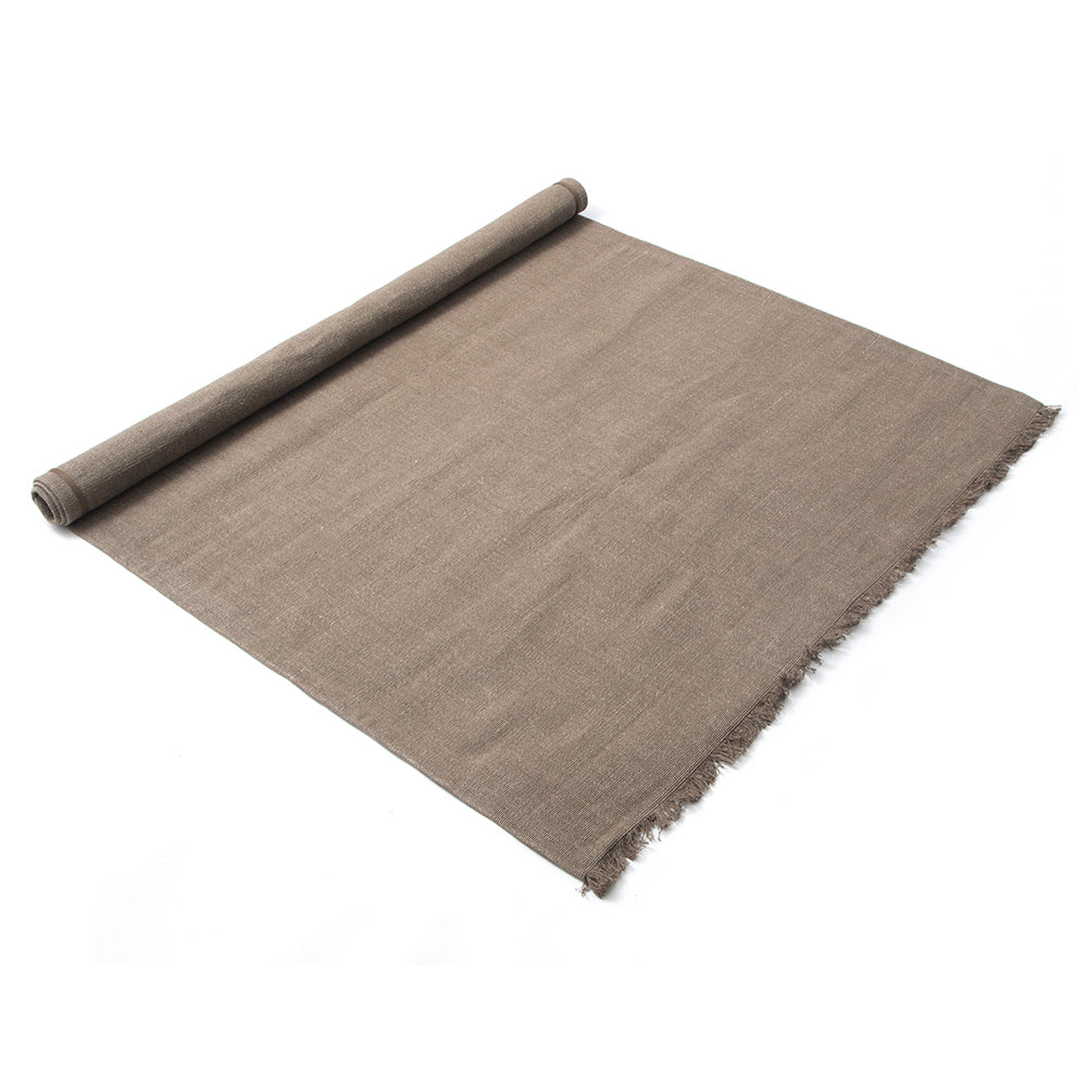 Linen Rug Taupe - Stellar Works - Do Shop
