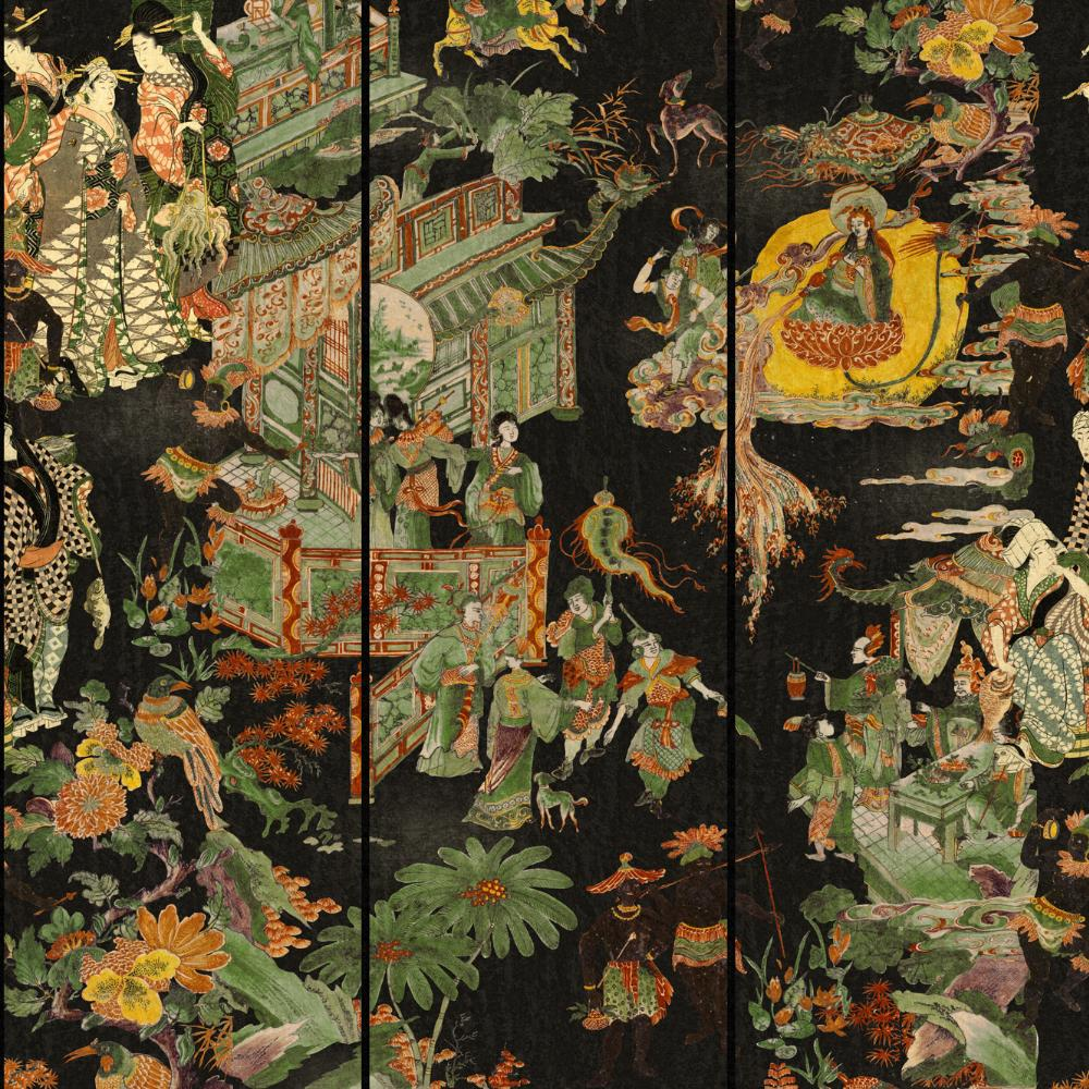 The Oriental Tale Wallpaper - Compendium Collection by MINDTHEGAP | Do Shop