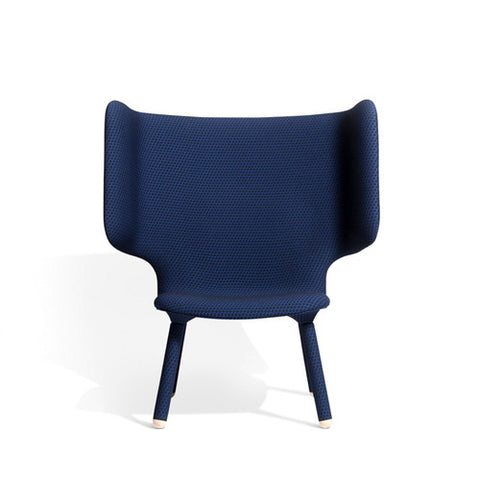 Tembo Lounge Chair - Febrik Dot Midnight - New Works - Do Shop