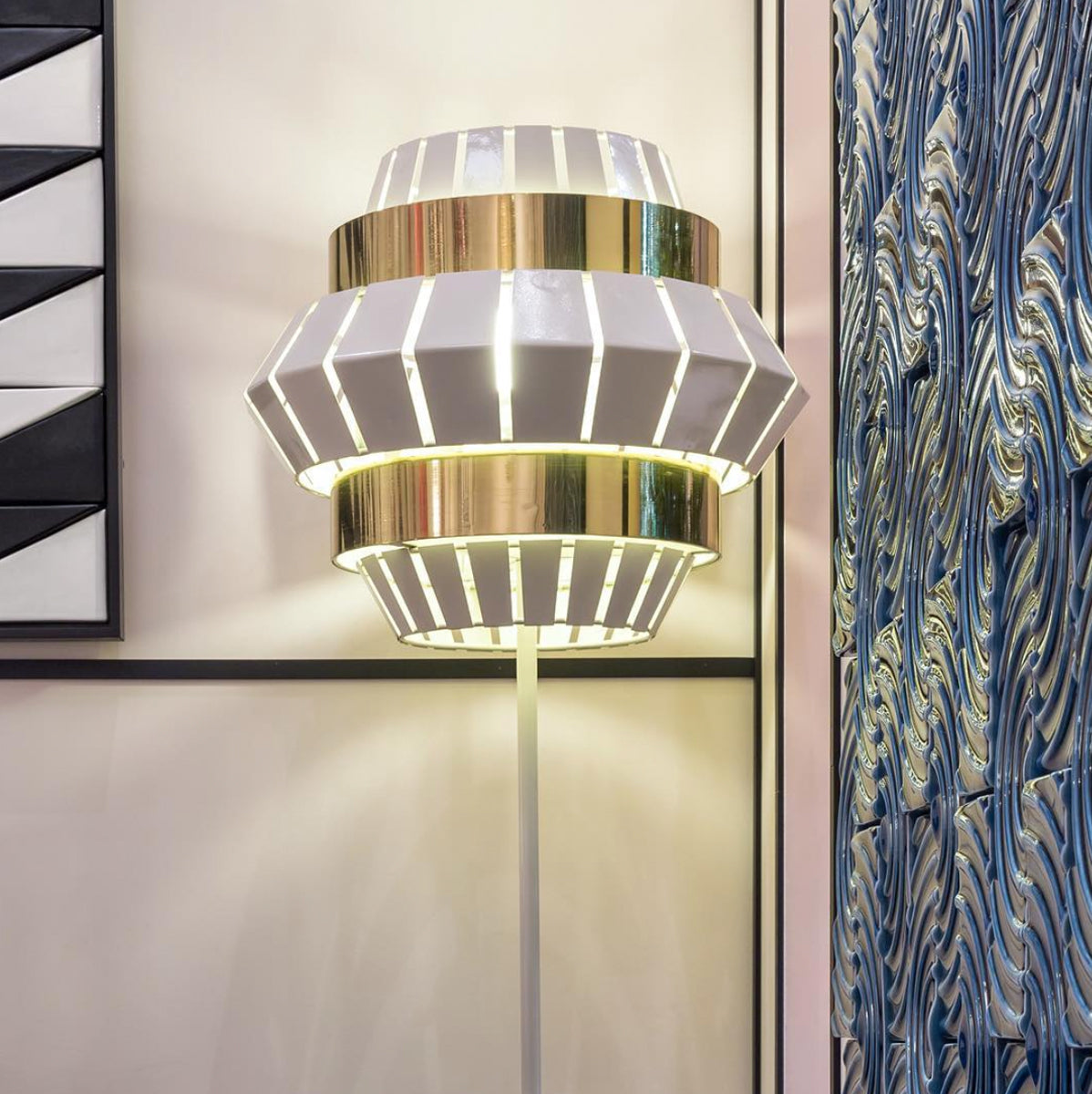 Comb Floor Light by Utu Soulful Lighting | Do Shop