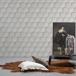 Hexa Ceramics Wallpaper by Studio Roderick Vos for Monochrome Collection - NLXL - Do Shop